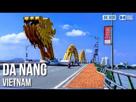 Da Nang City - 🇻🇳 Vietnam - 4K Virtual Tour