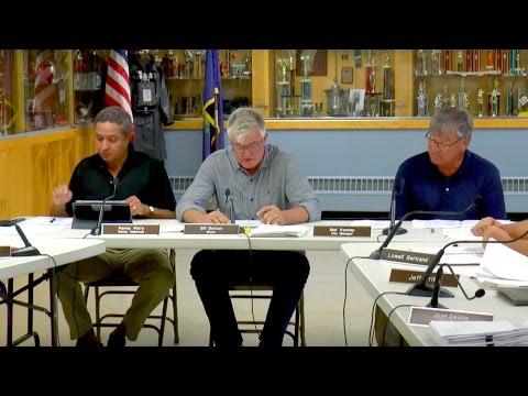 Vergennes City Council: August 30, 2016