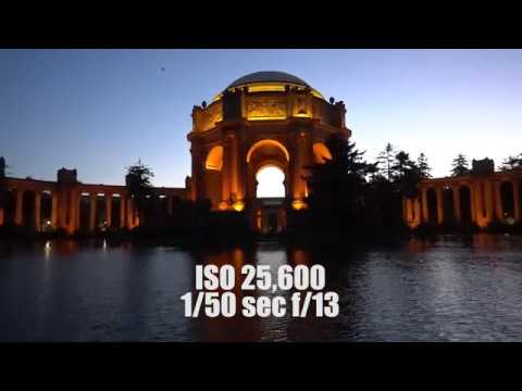 Sony A9 REAL World ISO Test- 100 to 102,400, ungraded, unedited footage from San Francisco