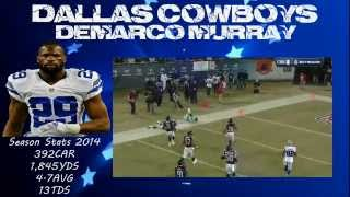 Dallas Cowboys RB Demarco Murray - All TD