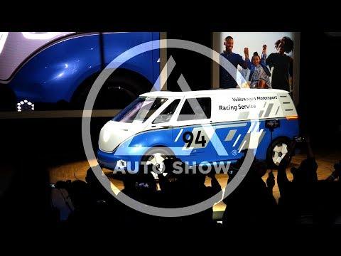 LA Auto Show 2018 - VW - BUZZ Cargo - Cargo E-Bike