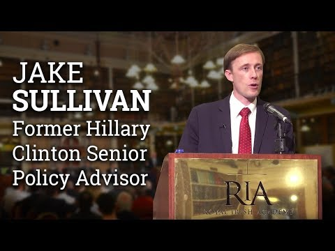 4 things US must do to shape foreign policy | Jake Sullivan | Former senior adviser Hillary Clinton