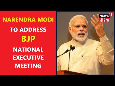 Narendra Modi to Address BJP National Executive Meeting in Delhi | Breaking News | News18 India