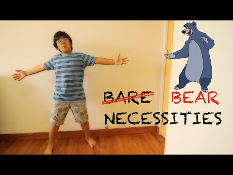 The Bare Necessities | The Jungle Book | Cover Song | Kabeer Bose | Joydeep Bose