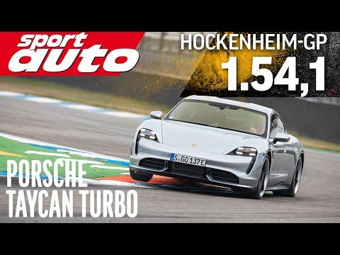 Taycan Turbo | Hot Lap Hockenheim-GP | sport auto