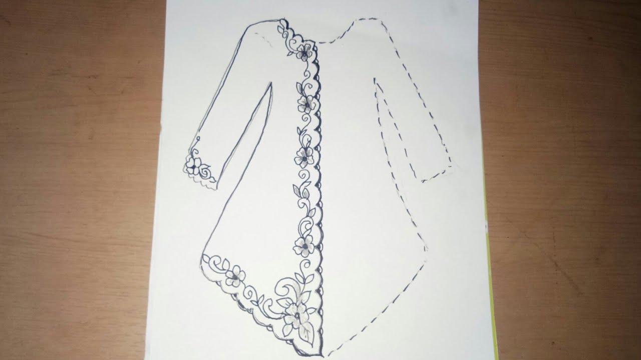 Contoh Desain Sketsa Kebaya Fashion Busana Adat – Cuitan Dokter
