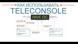 hive OS - как использовать Teleconsole