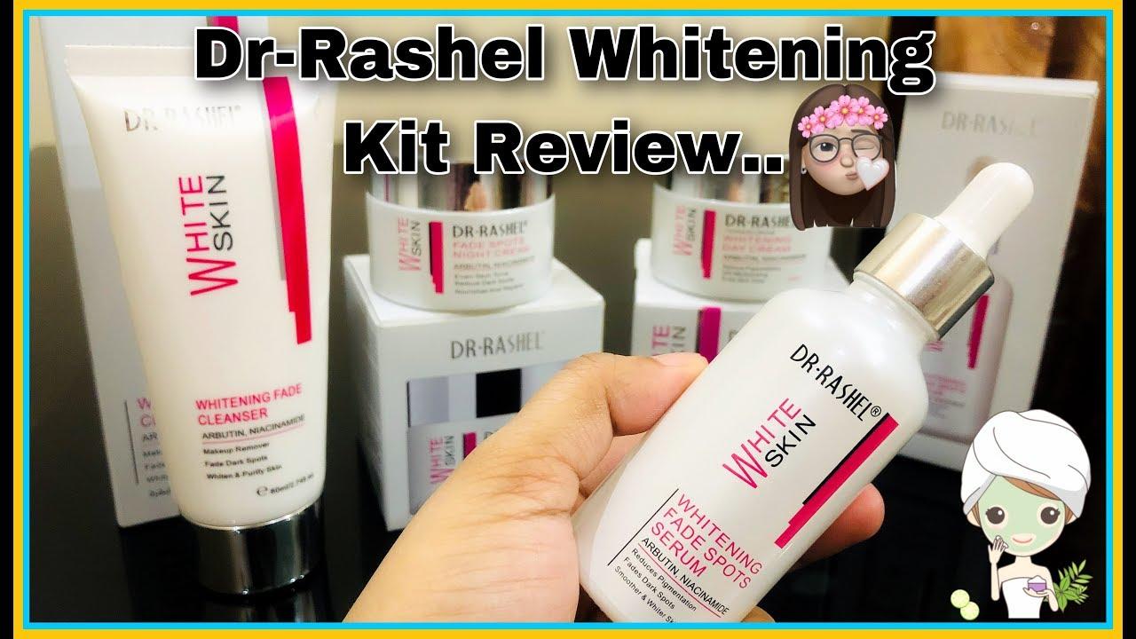 Dr Rashel Whitening Kit Honest Review Drrashel Youtube