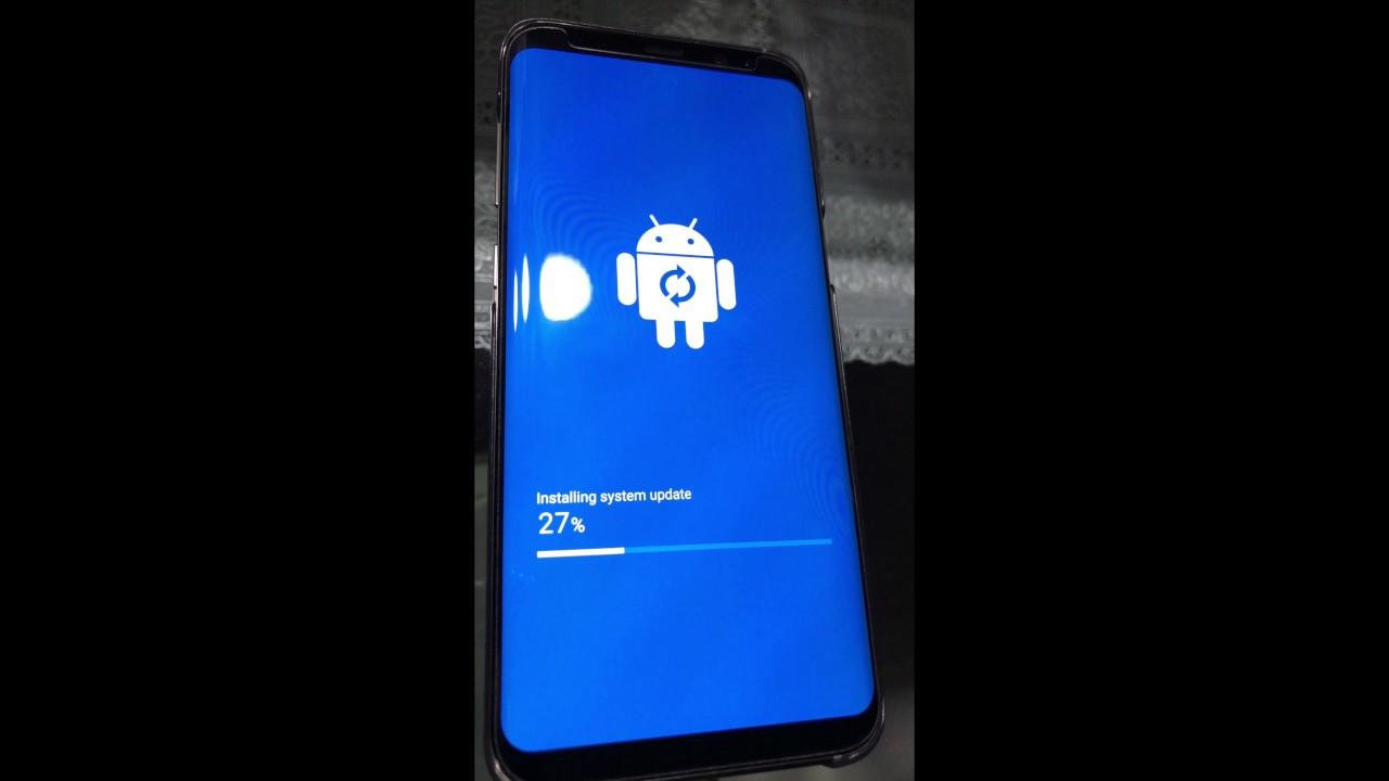 S8+ Update