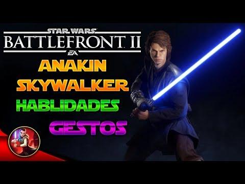 ANAKIN SKYWALKER - HABILIDADES, GESTOS, POSES ETC... - Star Wars Battlefront 2 - ByOscar94 thumbnail