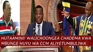 DAH! HUTAAMINI, Walichoongea CHADEMA kwa Mbunge huyu wa CCM Aliyetumbuliwa na Spika Ndugai
