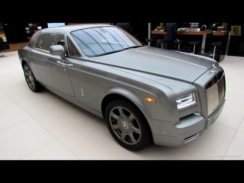 2013 Rolls-Royce Phantom Coupe Aviator Collection - Walkaround - 2012 Paris Auto Show