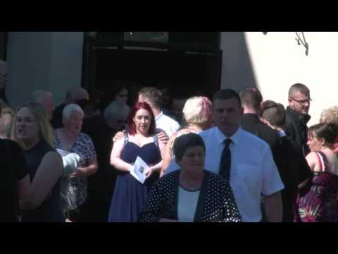 Funeral of Newtownabbey woman Donna Brown