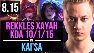 FNC Rekkles - XAYAH vs KAI