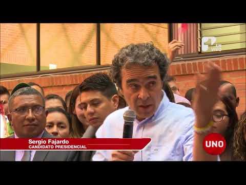 Fajardo inscribió 981.529 firmas de respaldo a su candidatura presidencial