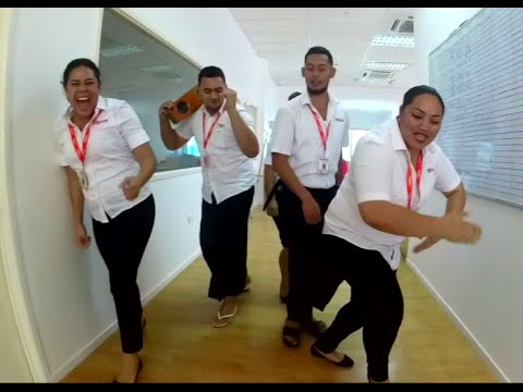 Digicel Tonga - Running Man Challenge