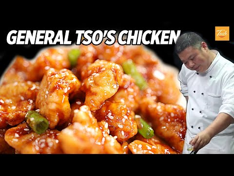 The Tastiest General Tso's Chicken You'll Ever Make | Cooking alongside Masterchef • Taste Show