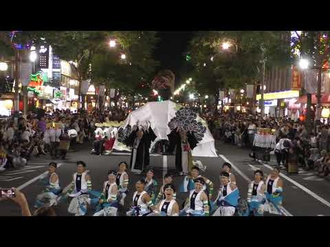 2018年8月3日 すすきの祭り 新琴似天舞龍神さんの動画です