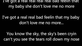 The Sky Is Crying- Stevie Ray Vaughan (lyrics)