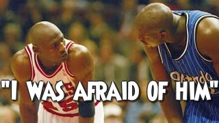 How Michael Jordan Intimidated Shaq