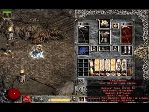 Diablo 2 Single Player: Fury / Armageddon Druid