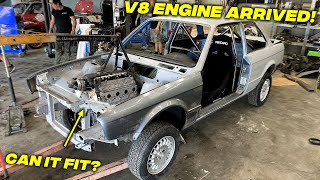 LS Swapping My BMW E30 Drift Car Build  - Episode 7
