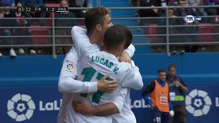 [LIGA] Eibar vs Real Madrid 1-2 Gol e highlights HD - 10/03/18