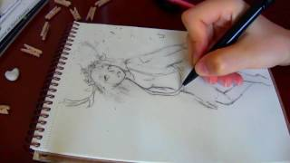 sketch with me - Wild Deer -