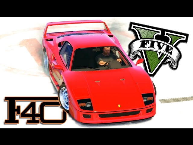GTA 5 - Ferrari F40   Short Film - Rockstar Editor