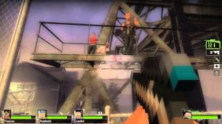 Left 4 Dead 2 - Minecraft | Глава 2: Переход / The Passing [Прохождение]