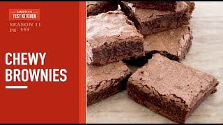 Celebrate the 20th Anniversary of America's Test Kitchen with Perfect Chewy Brownies