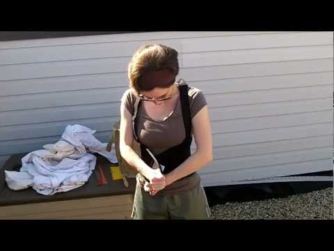 Urban Beekeeping: Try a Back Brace! Helps When Lifting Heavy Hive Bodies/Supers!