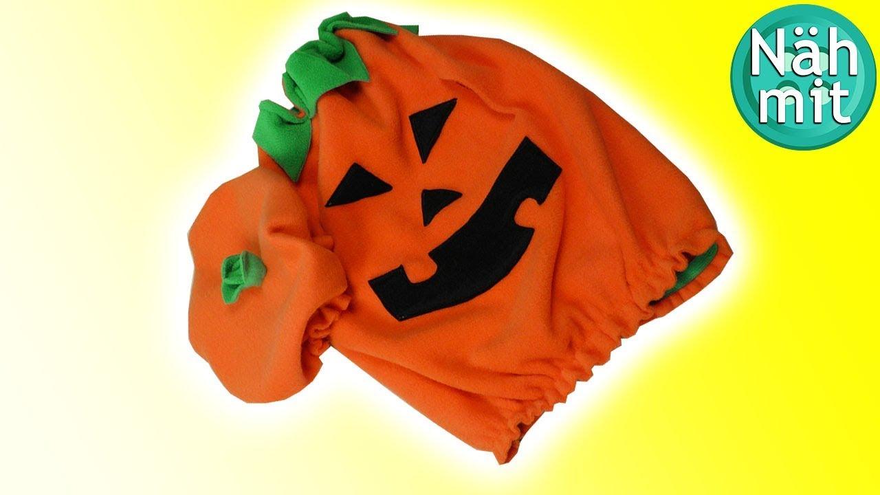 Halloween Kuerbis Kostuem Selber Machen.Halloween Kostum Nahen Teil 2 Kurbiskostum Fur Babies Nahen Fur Babies Nah Mit Mir Youtube