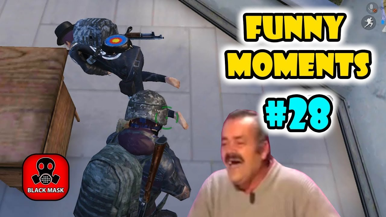 Pubg Mobile Funny Moments Ep 28 Black Mask
