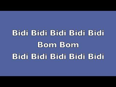 Selena Bidi Bidi Bom Bom Con Letra Youtube