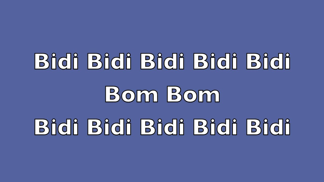 Nick Jonas & Nicki Minaj – Bom Bidi Bom Lyrics - genius.com
