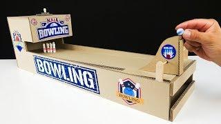 DIY Bowling from Cardboard | Simple Board Game