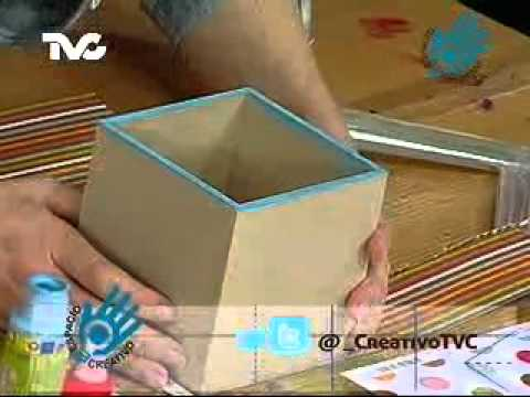 como hacer cajas de madera