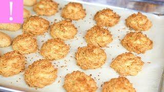 🔴  Кокосовое Печенье | Печенье к чаю быстрого приготовления | Простые рецепты печенья