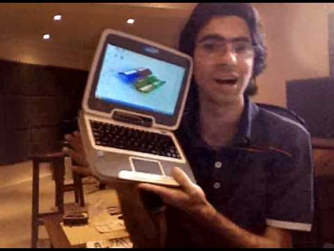 Jugando con la Classmate PC