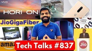 Tech Talks #837 - Zenfone 6 Launch, Vivo Z Series, Jio Giga Fiber, Mi 9T Pro, Galaxy Note 10, Maps