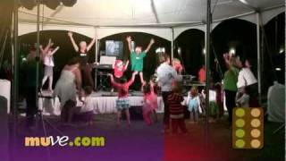 Christmas Fitness Activity - 3 Year Old Santa Leads Dance Exercise for Kids