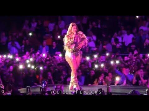 Nicki Minaj Calling Cardi B A Obsessed Hater In London - The O2 - The Nicki Wrld Tour Live