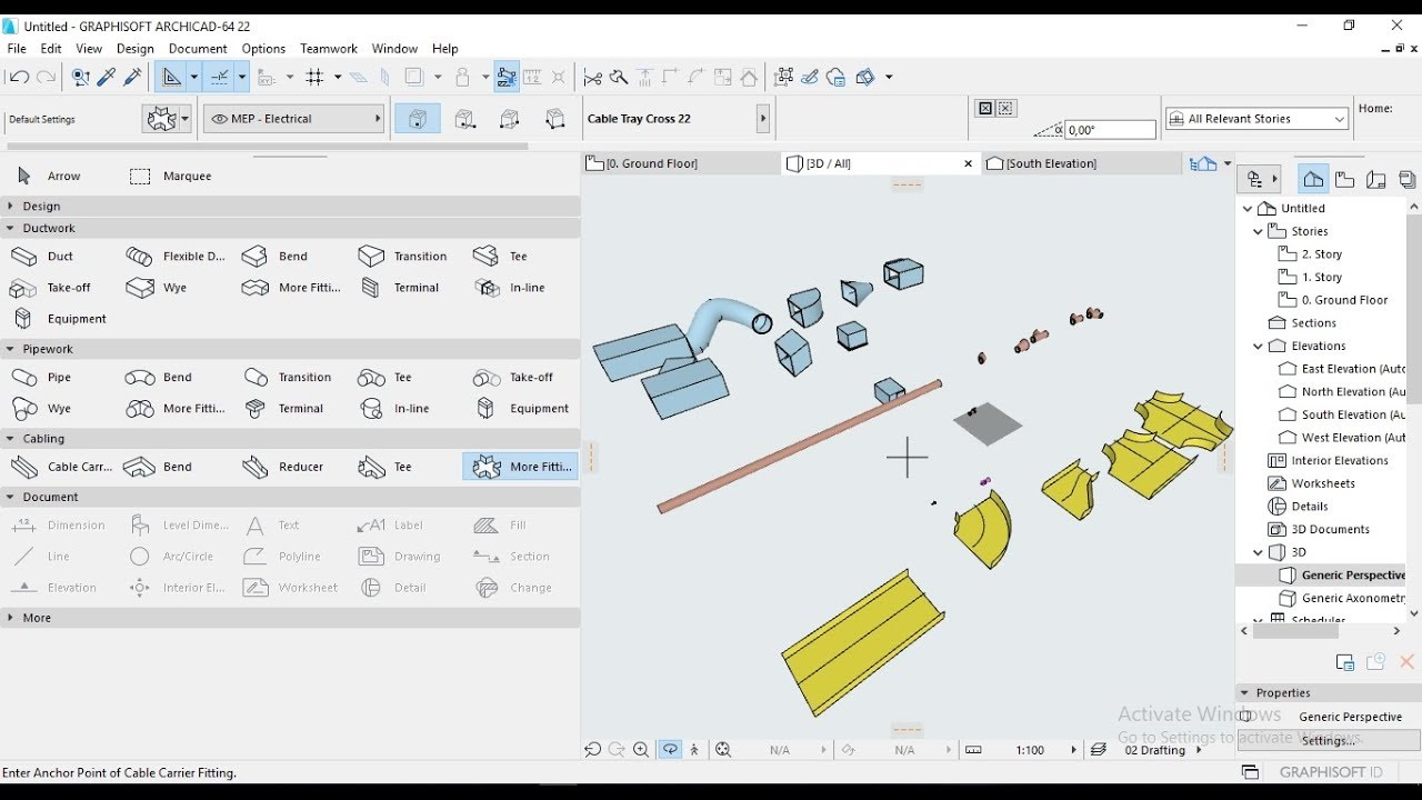Tutorial ARCHICAD 22 How to install MEP Modeler on ARCHICAD 22 #Part1