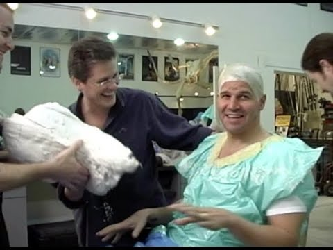 David Boreanaz Head Cast  Bones