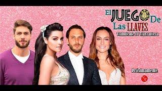 Serie El Juego De Las Llaves con Maite Perroni, Horacio Pancheri, Marimar Vega y Ela Velden 2019