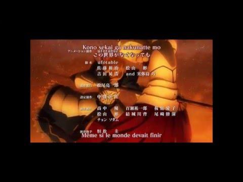Fate Zero Ending 1 FHD Clip+Lyric