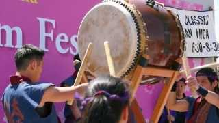 Clip No. 3) San Francisco Taiko Dojo performs their signature piece...