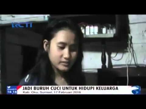 OKU TIMUR SUMATRA SELATAN//KISAH PILU Siswi SMK 1 RAWA BENING Jadi Tulang Punggung Keluarga