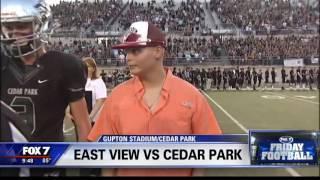 FOX 7 Friday Football Week Four: East View v Cedar Park | 9/16/2016